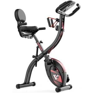 Hapbear Folding Exercise Bike for $138