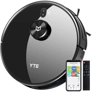 YTE Robot Vacuum with Lidar Mapping for $160