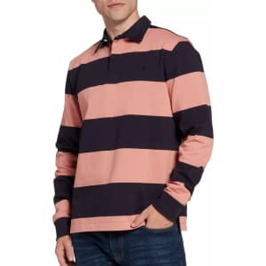 The North Face Men's Berkeley Rugby Long Sleeve Shirt for $26