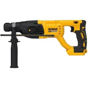 DeWalt 20V MAX XR Rotary Hammer Drill (No Battery) for $130