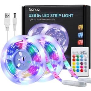 Gohyo 20-Foot LED Strip Lights for $6