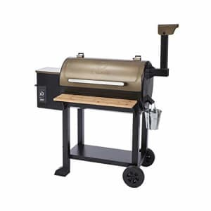 Z GRILLS ZPG-5502G 8 in 1 Wood Pellet Grill Smoker for Outdoor BBQ Cooking with Digital Temperature for $399