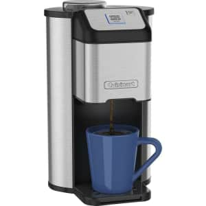 Cuisinart Grind & Brew Single Cup Coffeemaker for $35