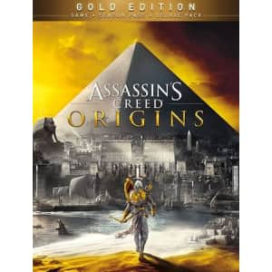 Assassin's Creed Origins Gold Edition for PC: $10