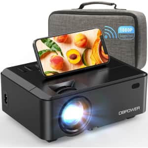 DBPower Mini Projector w/ Carry Case for $72