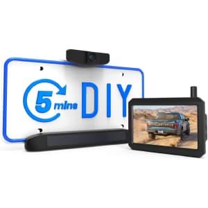 Auto-Vox Solar Wireless Backup Camera for $170