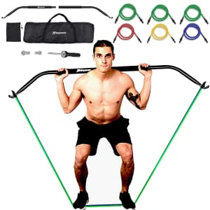 Shinyever Bow Portable Home Gym for $46