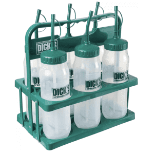 Dick's Sporting Goods Straw Bottle Carrier with Bottles for $12