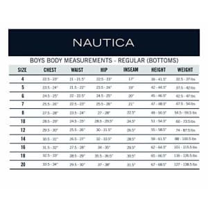 Nautica Boys' Big School Uniform Jogger Short, Lowell Khaki, 12 for $15