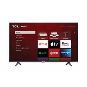"TCL 65"" Class 4-Series 4K UHD HDR Smart Roku TV 65S435 for $680"