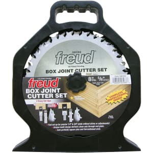 """Freud 8"""" x 20T Box Joint Cutter Set for $76"""