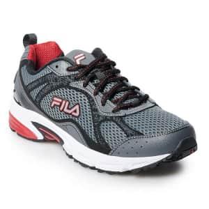 FILA Men's Windshift 15 Running Shoes for $30 w/ $5 Kohl's Cash