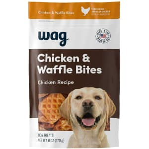 Wag Dog 6-oz. Chicken & Waffle Bites for $2.97 via Sub & Save