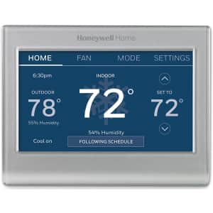 Honeywell WiFi Smart Color 7-Day Programmable Thermostat for $138