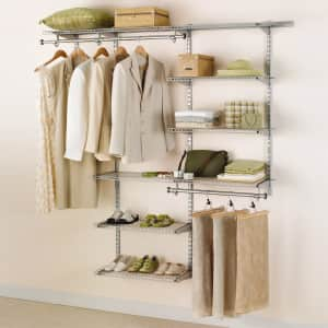Rubbermaid Configurations Deluxe Closet Kit for $105