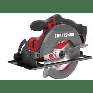 Craftsman 20 V 6-1/2 in. Cordless Circular Saw for $56