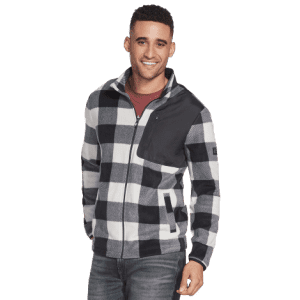 Skechers Men's Recovery Buffalo Check Jacket for $44