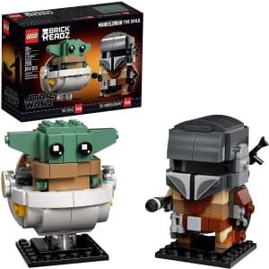 LEGO BrickHeadz Star Wars The Mandalorian & The Child Kit for $16