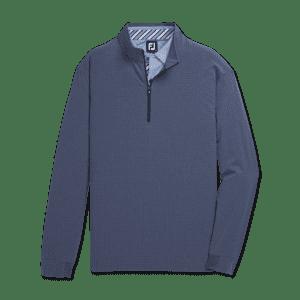 FootJoy Men's Tonal Print Woven Quarter-Zip Pullover for $75