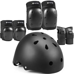 Purpol Kids' 7-Piece Protective Gear Set for $16