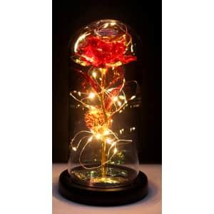 Eternal Artificial LED Rose for $15