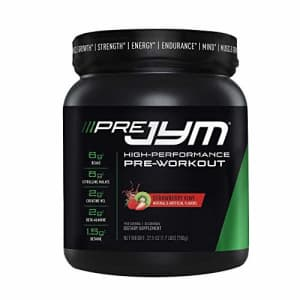 JYM Supplement Science Pre Jym Strawberry Kiwi, 30 Servings, Strawberry Kiwi, 30 Count for $40