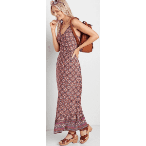 Maurices Women's Surplice Maxi Dress for $22