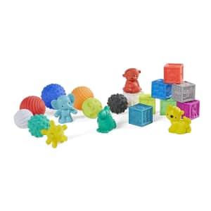 Infantino 20-Piece Sensory Balls Blocks & Buddies for $19