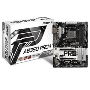 ASRock AB350 PRO4 ATX Motherboard for $315