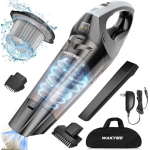 Wakyme Handheld Vacuum Cleaner for $24