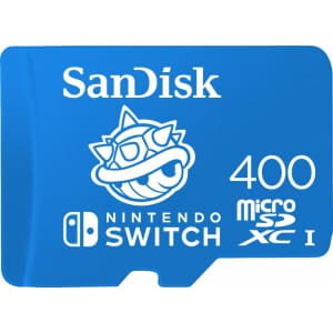 SanDisk 400GB microSDXC UHS-I Memory Card for Switch for $100
