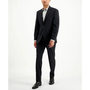 Calvin Klein Men's Slim Fit 2-Piece Wool Suit for $95
