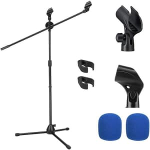 Moukey Microphone Mic Stand for $15