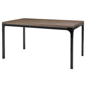 Stylewell Porter 6-Person Rustic Industrial Rectangular Dining Table for $175