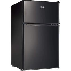 Walsh 3.1-Cu. Ft. Compact Dual-Door Refrigerator w/ Freezer for $242