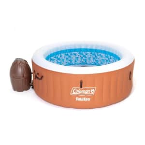 Coleman 4-Person 120-Jet Round Inflatable Hot Tub for $435