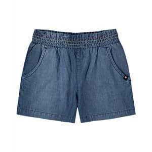 Lucky Brand Girls' Pull on Short, Denim Audra, Small (7) for $11