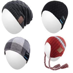 Qshell Bluetooth Winter Beanies at Amazon: for $15