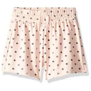 Splendid Girls' Big Dot Print Short, Cloud Pink, 7/8 for $24