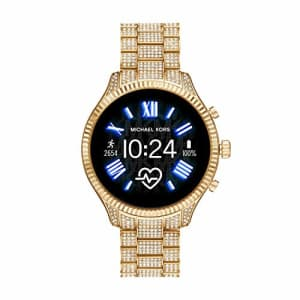 Michael Kors Access Women's Lexington 2 Touchscreen Stainless Steel Smartwatch, Gold Tone All Over for $548