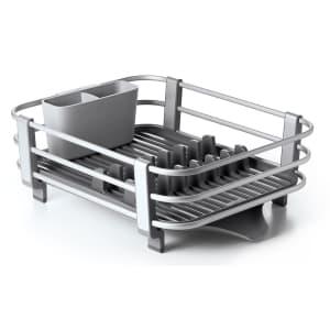 OXO Aluminum Frame Dish Rack for $35