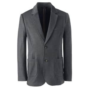 Lands' End Men's Uniform Twill Ponte Sport Coat for $32