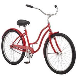 Schwinn Mikko Adult Beach Cruiser Bike, Featuring 17-Inch/Medium Steel Step-Over Frames, 1-Speed for $444