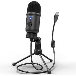 Moukey USB Condenser Microphone for $27