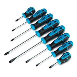 Capri Tools 25000-SS8KPS Kontour Screwdriver Set, 8-Piece for $40