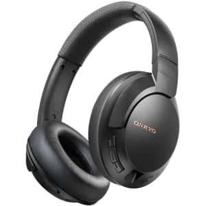 Onkyo by TCL Noise-Cancelling Wireless Bluetooth Headphones for $40