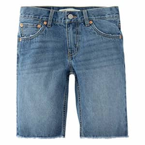 Levi's Boys' 511 Slim Fit Denim Shorts, Pyramids, 7 for $23