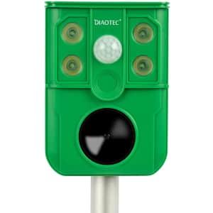 Diaotec Solar Ultrasonic Animal Repeller for $21