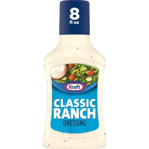 Kraft 8-oz. Classic Ranch Salad Dressing for $1.13 via Sub & save