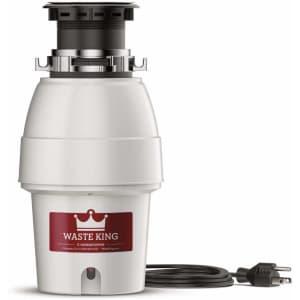 Waste King Legend Series 1-HP Garbage Disposal for $114
